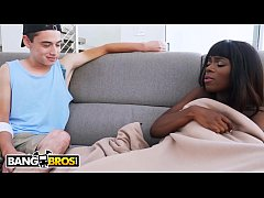 BANGBROS - Black Babe Having Interracial Sex With Her Big Dick Step Brother