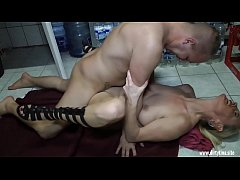 Stepson fucks me in the laundry room