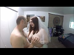 Slutty Bride Gets Plowed Minutes Before Wedding