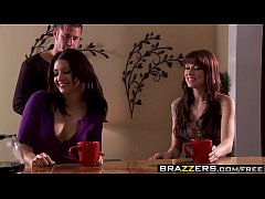 Brazzers - Real Wife Stories - April Fools Fuck scene starring Ann Marie Rios, Chayse Evans, Danny