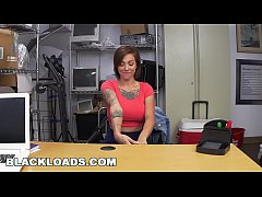 BLACKLOADS - Inked Up Big Tits Broad Casting Video