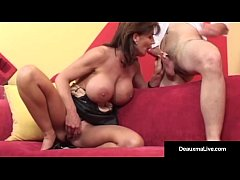 Big Titted MILF Deauxma Anal!
