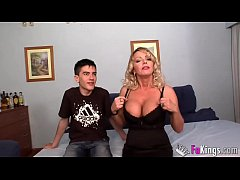 BIGGEST MILF CLUB: Bibian Norai Boobs are bigger than Jordi's head!!!