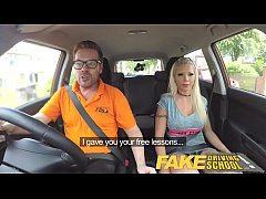 Fake Driving School Barbie earns her pass with ...