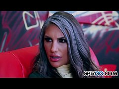 Spizoo - Flawless August Ames gets a nice fuck by Deadpool