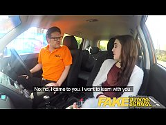 Fake Driving School Sexy horny new learner has ...