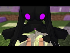 Minecraft Encounter with an enderwoman