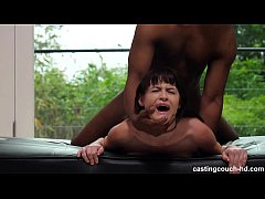 First Time She Fucked A Black Guy, Cums Multiple Times