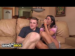 BANGBROS - Latina Stepmom With Big Tits Shows Step Daughter How To Properly Fuck Her Boyfriend