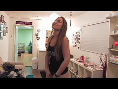 BTS Of Dani Daniels' First Anal Toy Play