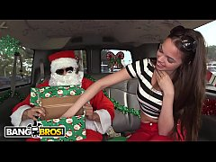 BANGBROS - A Very Bang Bus Christmas with Mia Monroe and Santa Claus