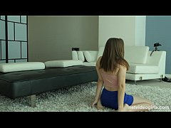 Lacy returns to NetVideoGirls and has her first...