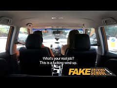 Fake Driving School Ava Austen Gets Cum-pensati...