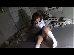 Two horny Japanese men attack Meina with oil an...