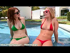 Reality Kings - Hot lesbian sex by the pool
