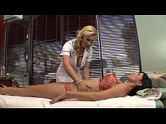 This is Tanya Tate' massage parlour, the only establishment where  Jelena Jensen doesn't get an average run of the mill massage instead she receives pure unadulterated passion