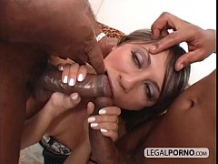Dirty chick going black gets DPed HC-12-02