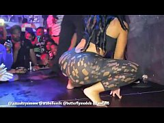 Sultry Simone Gives Fan A Lap Dance - Twerking On Stage In Germany!