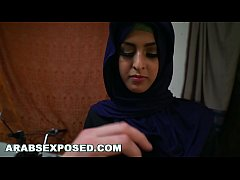 ARABS EXPOSED - Cute Arab Girl Needed Help. Luckily She Found Me.