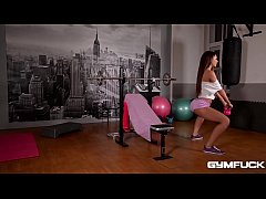 Gym Threesome of the year with Alexis Brill and...