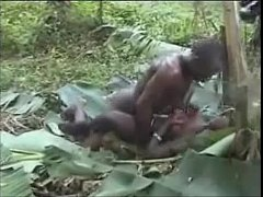 Real African Amateur Fuck on Tree, 6969cams.com