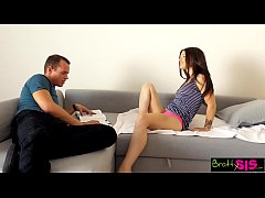 Bratty Sis - Brother Fucks Sister Better Than H...