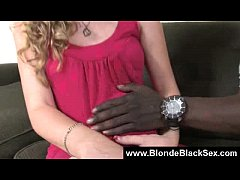 Busty Blonde Babes Banged By Monster Black Cocks 13
