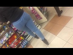 hidden camera video latin booty at ampm Pt 2