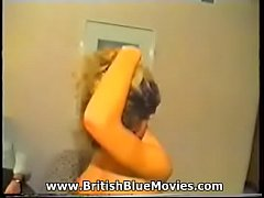 Vintage British amateur porn straight from VHS!