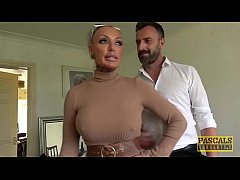 Sinful subslut bouncing on Pascal cock