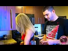 Son blackmail mom to do blowjob with his friend also