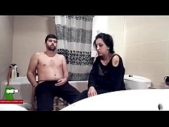 The gypsy woman eating cock on the toilet ADR0140