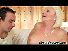 Juggs granny jizz mouthed