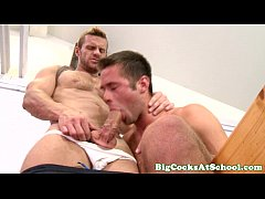 Bigdick jock sucking cock and licking ass