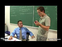 Sinful gay teacher gets nailed by gay student i...