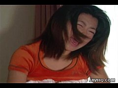 Cock riding Asian Hiroko Mortia action!