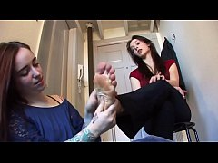 mistress and her foot slave