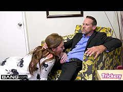 Maddy O'Reilly fucks the therapist while her hu...