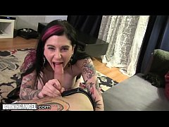 Joanna Angel's Tight Ass Knocked by Small Hands POV!