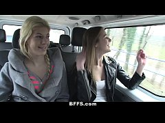BFFS - Slutty Euro Teens Go On A Crazy Road Trip!