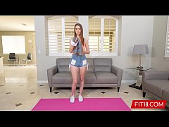 FIT18 - Jill Kassidy - 54kg - Point of View Casting Of Unshaved Beauty
