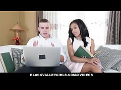 BlackValleyGirls -Hot Sexy Ebony Fucks White Jock