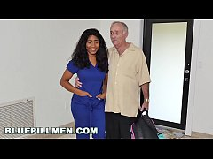 BLUE PILL MEN - Old Men Fuck Jenna J. Foxx's Fine Black Ass
