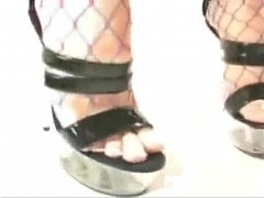 Vibrant Gal Foot Fetish Hot Fucking