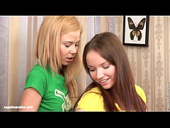 Bethany and Agathe pleasure each other in Coed Lust