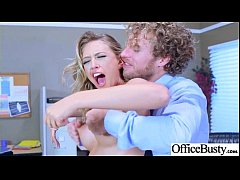 Round Big Tits Girl (Kagney Linn Karter) Get Banged In Office clip-30