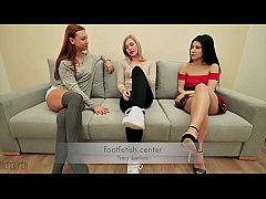 Forced Foot Worship - Tracy Lindsay - Humiliation Domination Lezdom Lesbian Feet