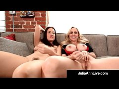 Femdom Milf Julia Ann & Kimberly Kane Make You ...