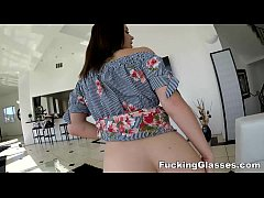 Fucking Glasses - She had no panties on and no clue about my video glasses