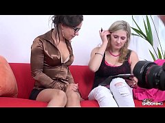 Fakeshooting - Busty blonde confused she has to fuck to get a work